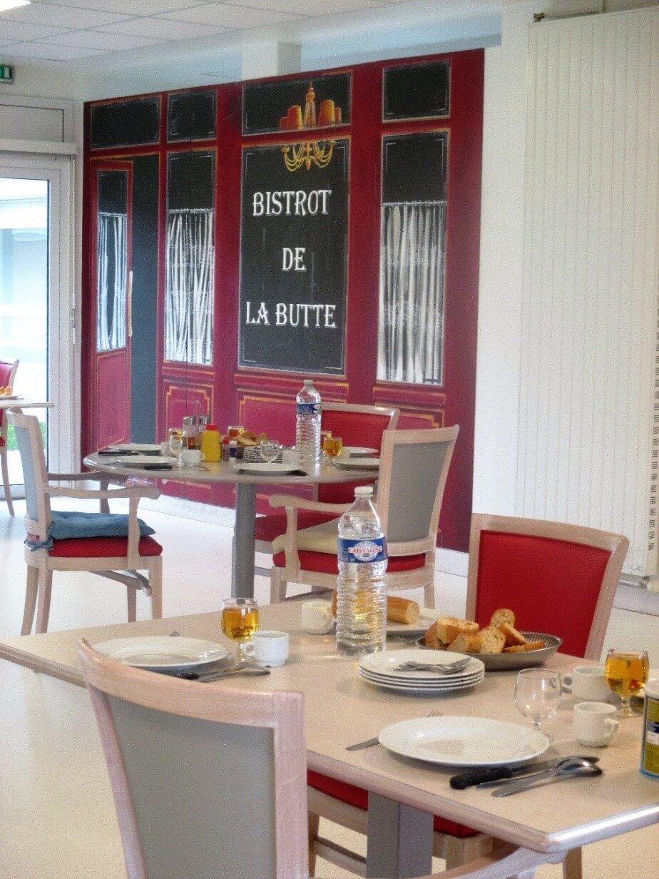 Salle A Manger Ehpad Fondation Beaufils